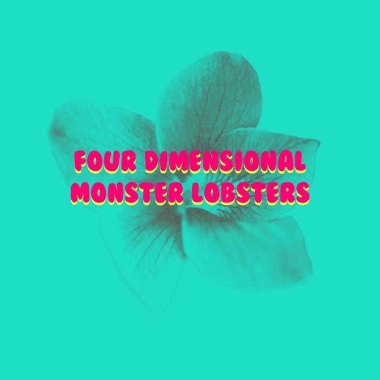FOUR DIMENSIONAL MONSTER LOBSTERS ახალ სიმღერაზე ვიდეოს აქვეყნებს