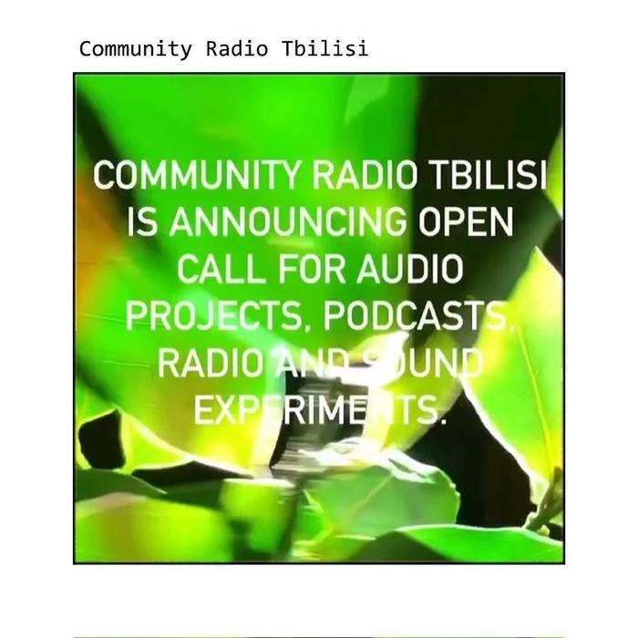 სათემო რადიო თბილისი აუდიო პროექტებს იღებს